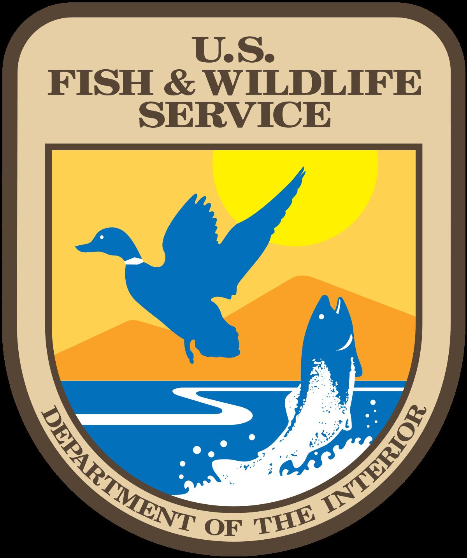 Logo of the U.S. Fish & Wildlife Service.